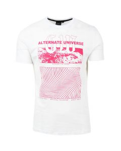 Shop Grey Wolf Alternate Universe T-shirt Brilliant White at Studio 88 Online