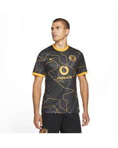 Shop Nike Kaizer Chiefs F.C. 2021/22 Stadium Away Replica Jersey Black Taxi at Studio 88 Online