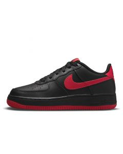 Shop Nike Air Force 1 Youth Black University Red at Studio 88 Online
