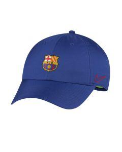 Shop Nike FC Barcelona Dry Fit H86 Cap Royal at Studio 88 Online