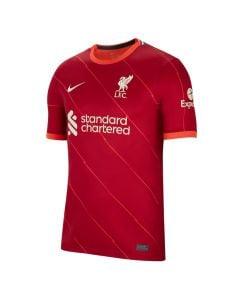 Shop Nike Liverpool F.C. 2021/22 Stadium Home Replica Jersey Gym Red Bright Crimson Fossil at Studio 88 Online