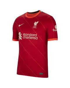 Shop Nike Liverpool F.C 2021/2022 Stadium Home Replica Jersey Gym Red at Studio 88 Online