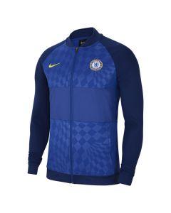 Shop Nike Chelsea F.C. Full-Zip Football Tracksuit Jacket Mens Navy at Studio 88 Online