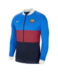Shop Nike F.C. Barcelona Full-Zip Football Jacket Mens Red Ivory at Studio 88 Online