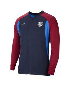 Shop Nike FC Barcelona Academy Jacket Mens Navy at Studio 88 Online