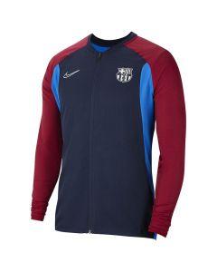 Shop Nike F.C. Barcelona Academy Jacket Mens Navy at Studio 88 Online