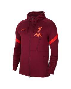 Shop Nike Liverpool FC Strike Knit Football Tracksuit Jacket Team Red Crimson at Studio 88 Online