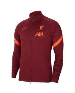 Shop Nike Liverpool FC Strike Men's Knit Football Mens Tracksuit Jacket Red at Studio 88 Online