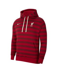 Shop Nike Liverpool F.C. Fleece Pullover Hoodie Gym Red Team Red at Studio 88 Online
