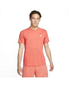 Shop Nike Club T-shirt Mens Magic Ember White at Studio 88 Online