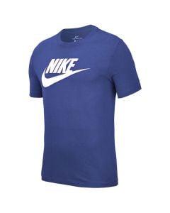 Shop Nike Icon Futura T-shirt Mens Astro Blue at Studio 88 Online