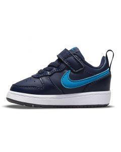 Shop Nike Court Borough Low 2 Sneaker Youth Midnight Navy Blue at Studio 88 Online