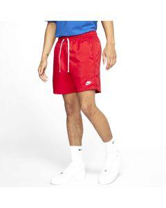 Shop Nike Woven Shorts Mens University Red White at Studio 88 Online