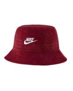 Shop Nike Futura Corduroy Bucket Hat Red at Studio 88 Online