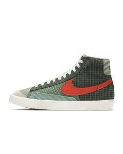 Shop Nike Blazer Mid '77 Patch Mens Dutch Patch Green Orange at Studio 88 Online