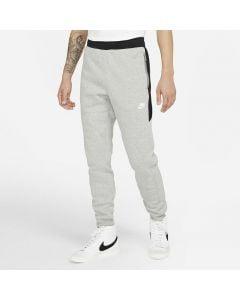 Shop Nike Hybrid Fleece Sweat Pant Mens Heather Grey Black White at Studio 88 Online