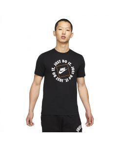 Shop Nike Just Do It T-shirt HBR 1 Mens Black at Studio 88 Online