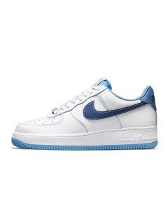 Shop Nike Air Force 1 '07 Mens White University Blue Sail Deep Royal Blue at Studio 88 Online