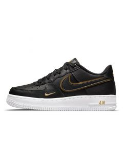 Shop Nike Air Force 1 LV8 Youth Black Black at Studio 88 Online