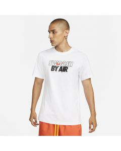 Shop Nike Swoosh By Air T-shirt Mens White at Studio 88 Online