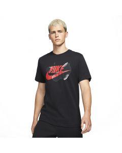 Shop Nike Sportswear Futura T-shirt Mens Seasonal Black at Studio 88 Online
