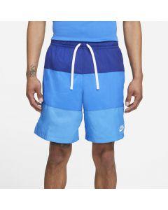 Shop Nike City Edition Woven Shorts Mens Deep Royal Blue Signal Blue at Studio 88 Online