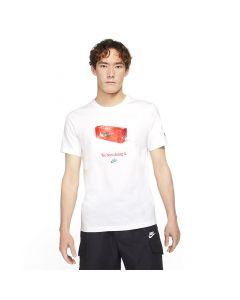 Shop Nike Sportswear Swoosh 50 T-shirt Mens Photo White at Studio 88 Online
