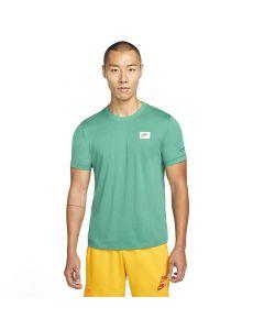 Shop Nike Sportswear Swhoosh 50 LBR T-shirt Mens Green at Studio 88 Online