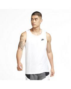 Shop Nike Club Tank Top Mens White Black at Studio 88 Online