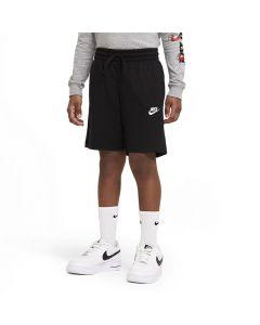 Shop Nike Sportswear Jersey Shorts Youth AA Black at Studio 88 Online