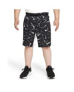 Shop Nike Dri-FIT All Over Print Training Shorts Youth Black at Studio 88 Online