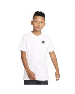 Shop Nike Air Back Print T-shirt Youth White Black at Studio 88 Online