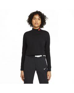 Shop Nike Long-Sleeve Mock Love T-Shirt Womens Black at Studio 88 Online