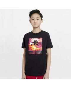 Shop Nike Photo Palm T-Shirt Boys Black at Studio 88 Online