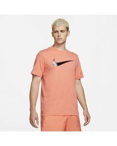 Shop Nike Icon Swoosh T-shirt Mens Ember Black at Studio 88 Online