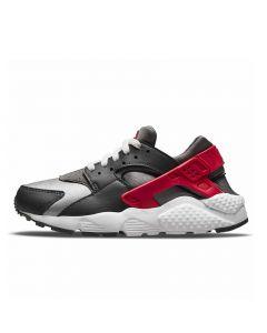 Shop Nike Huarache Run Youth Sneaker Dark Smoke Grey University Red at Studio 88 Online