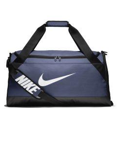 Shop Nike Brasilia Duffel Bag Navy at Studio 88 Online