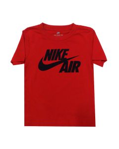 Shop Nike Air Swoosh Split T-shirt Kids Red at Studio 88 Online