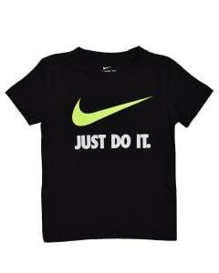 Shop Nike Just Do It Swoosh T-shirt Kids Volt Black at Studio 88 Online