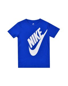 Shop Nike Jumbo Futura T-shirt Kids Royal Blue at Studio 88 Online