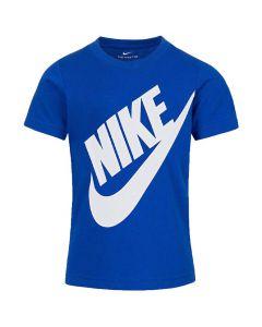 Shop Nike Jumbo Futura T-shirt Kids Real Royal Blue at Studio 88 Online