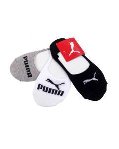 Shop Puma Invisible Socks 3Pack Black at Studio 88 Online