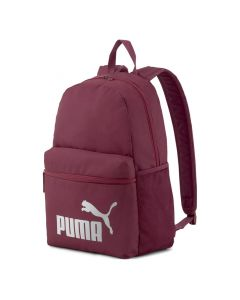 Shop Puma Phase Backpack Burgundy Silver at Studio 88 Online
