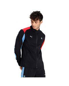Shop Puma BMW M Motorsport Track Jacket Slim Fit Mens Black Blue at Studio 88 Online