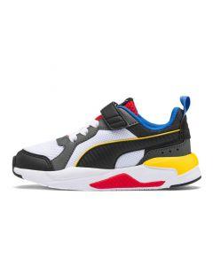 Shop Puma X-Ray Kids White Blk Dk Shadow Red Blue at Studio 88 Online