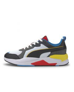 Shop Puma X-Ray Mens Sneaker White Blk Dk Shadow Red Blue at Studio 88 Online