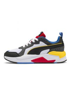 Shop Puma X-Ray Youth White Blk Dk Shadow Red Blue at Studio 88 Online
