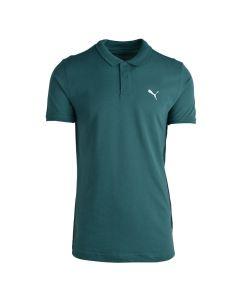 Shop Puma Pique Polo Golfer Mens Blue Spruce at Studio 88 Online