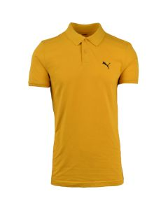 Shop Puma Pique Polo Golfer Mens Mineral Yellow at Studio 88 Online