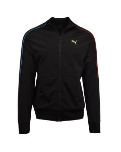 Shop Puma Tricot Panel Jacket Mens Black at Studio 88 Online
